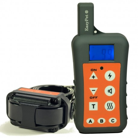 EasyPet EP-380R 1000M Waterproof Submersible Rechargeable Remote Dog Training Collar